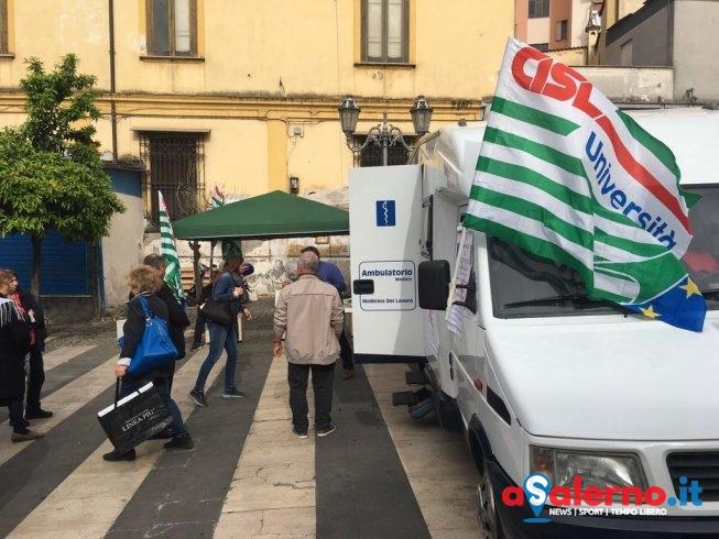 """Grande successo per la manifestazione della Cisl: """"Salute e Prevenzione"""" - aSalerno.it"""