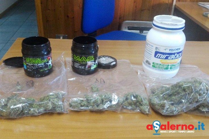 Sorpreso con marijuana e anabolizzanti, arrestato 31enne a Castellabate - aSalerno.it