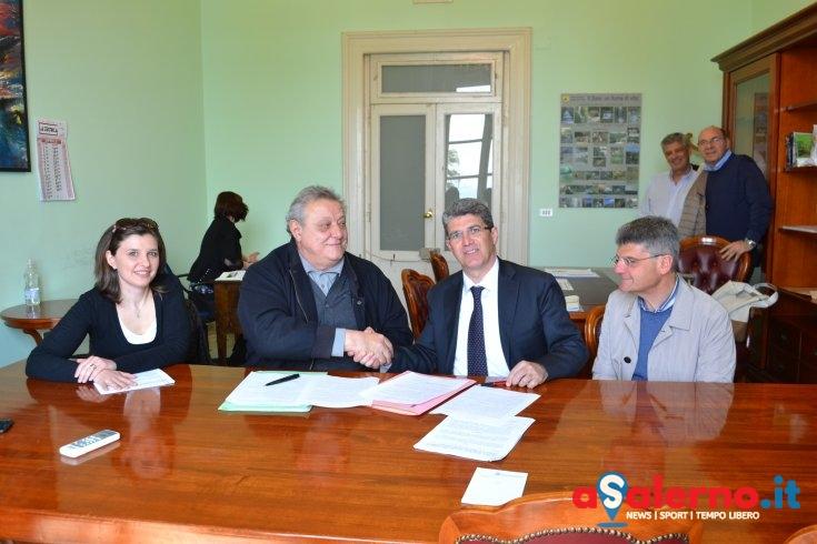 Cava, firmata l'intesa per Infopoint e Archivio – FOTO - aSalerno.it