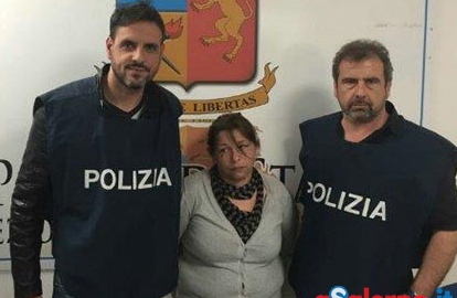 Latitante serba arrestata a Roma dagli agenti della Squadra Mobile di Salerno - aSalerno.it