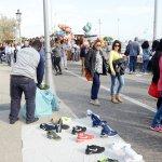 SAL - 17 04 2017 Salernoi Piazza della Concordia abusivi foto Tamnopress