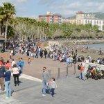 SAL - 17 04 2017 Salernoi Spiaggia dii Santa Teresa foto Tamnopress