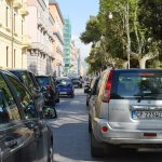 SAL - 17 04 2017 Salernoi  Lungomare Trieste traffico foto Tamnopress