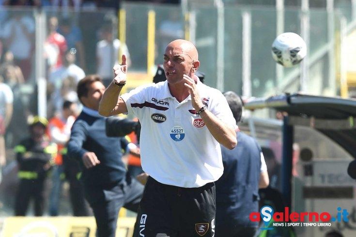 """Derby, Bollini: """"Non potevamo non vincere il derby per i tifosi"""" - aSalerno.it"""