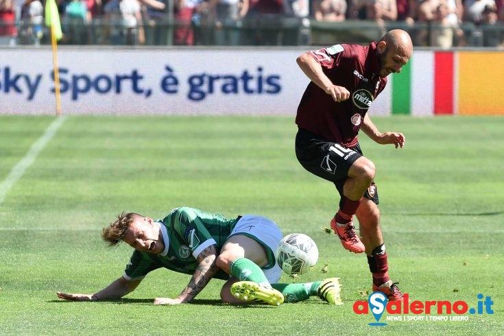 """Derby, Rosina soddisfatto: """"Abbiamo sofferto ma gestito bene il vantaggio"""" - aSalerno.it"""