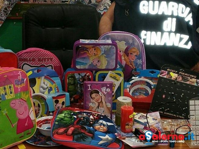 Oltre 64mila giocattoli per bambini non sicuri, nuovo sequestro della Finanza - aSalerno.it