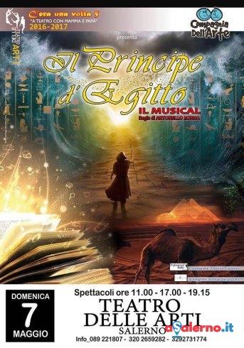 """Al Teatro delle Arti debutta il musical """"Il Principe d'Egitto"""" - aSalerno.it"""