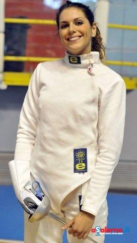 Scherma, medaglia di bronzo per la salernitana Antonella Fiordelisi - aSalerno.it