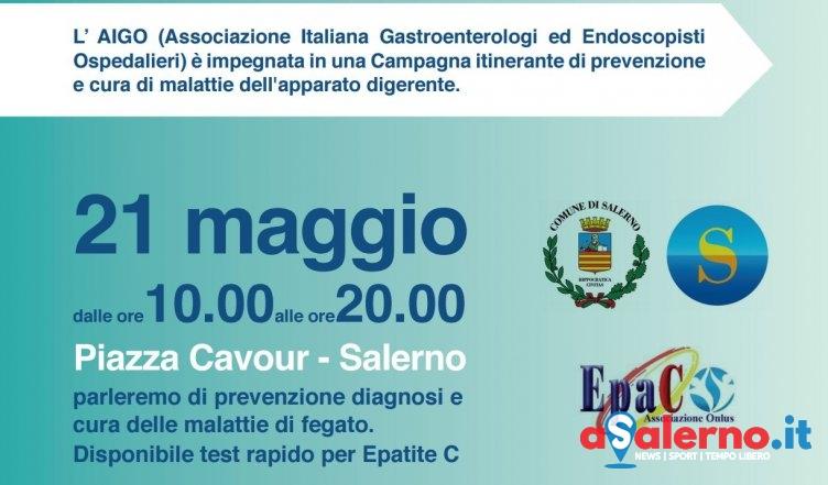 Epatite C: Il Comune di Salerno e Aigo uniti contro il killer silenzioso - aSalerno.it