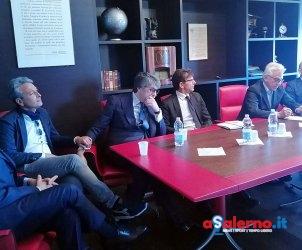 Sal - 09 05 2017 Salereno Presentazione embarcadero lungomare di salerno.