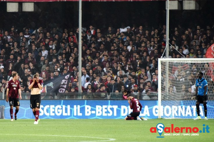 Gelo sull'Arechi, Frosinone in vantaggio per 3-0 sui granata - aSalerno.it