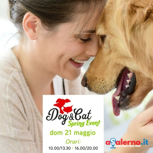 "Red carpet a 4 zampe e aperidog, a Montecorvino l'evento ""Dog&Cat Spring Event"" - aSalerno.it"