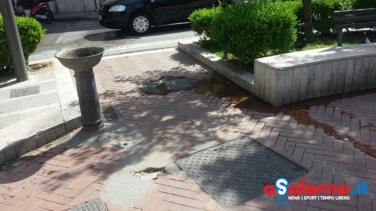 """Piazza Matteo Galdi """"abbandonata"""", Carbonaro chiede l'intervento del Comune - aSalerno.it"""