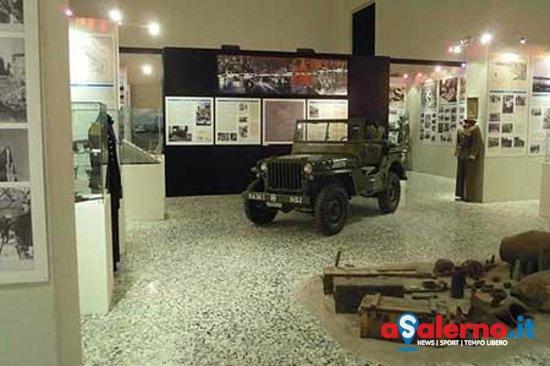 Salerno, consegna dell'asta di cannone al Museo dello Sbarco - aSalerno.it