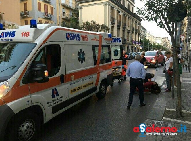 Incidente in via Roma, investita una donna - aSalerno.it