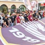 SAL - 19 06 2017 Salerno corteo tifosi salernitana. Foto Tanopress
