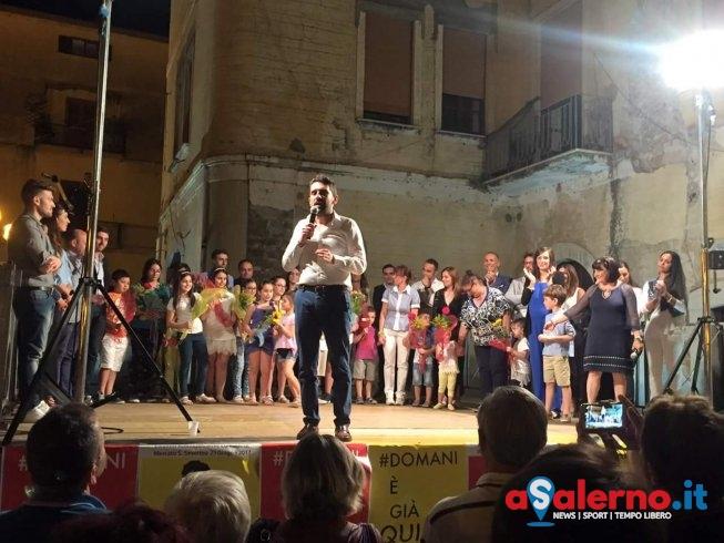 """Somma si """"prende"""" Mercato San Severino, è lui il nuovo sindaco: """"E' la vittoria della città"""" - aSalerno.it"""