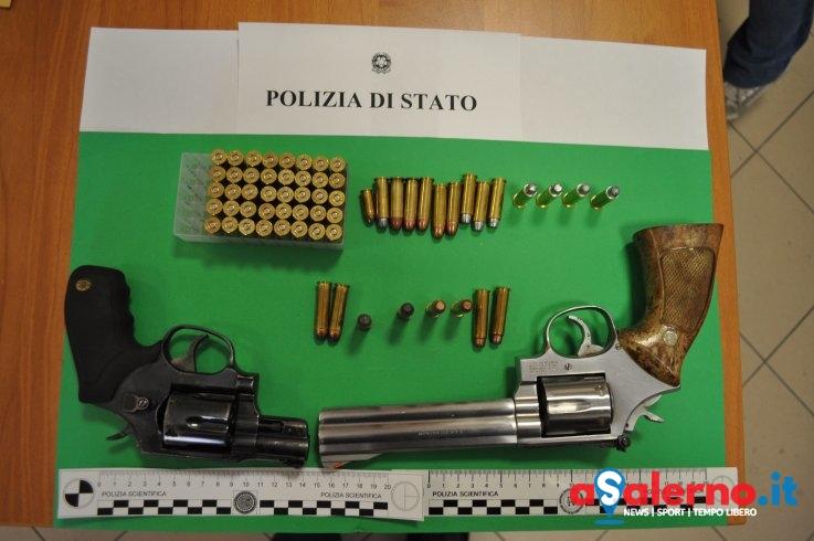 Perquisizione a casa del sorvegliato speciale: trovate una calibro 38 e una Smith & Wesson - aSalerno.it