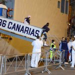 SAL - 19 06 2017 Salerno Porto. Sbarco di migranti. Foto Tanopress