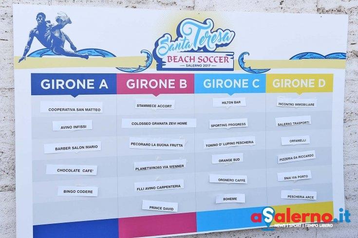 Santa Teresa, ecco tutte le gare: la composizione nei quattro gironi - aSalerno.it