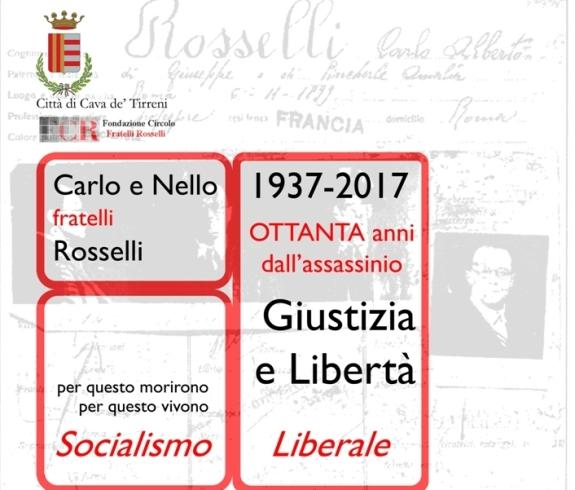 Cava de' Tirreni ricorda Carlo e Nello Rosselli - aSalerno.it