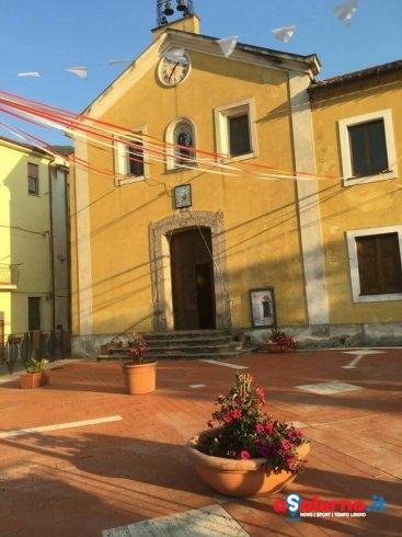 Baronissi, completati i lavori del sagrato della Chiesa di Fusara – FOTO - aSalerno.it