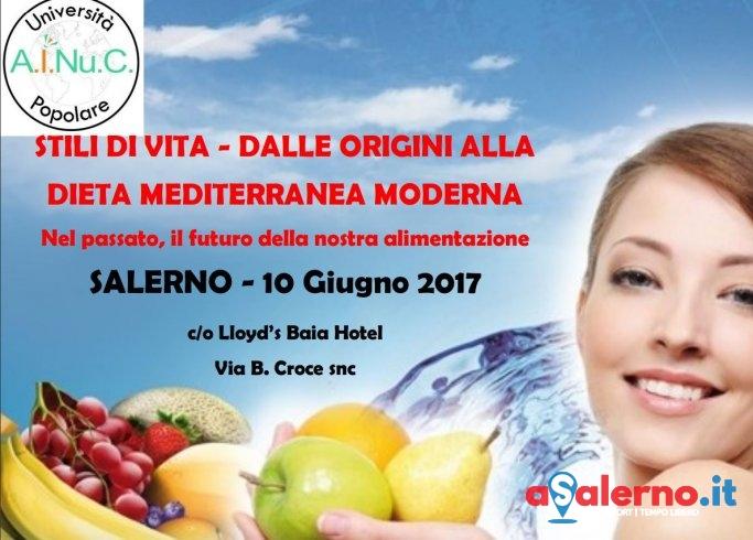 """Convegno a Salerno sugli """"stili di vita e la dieta mediterranea moderna"""" - aSalerno.it"""
