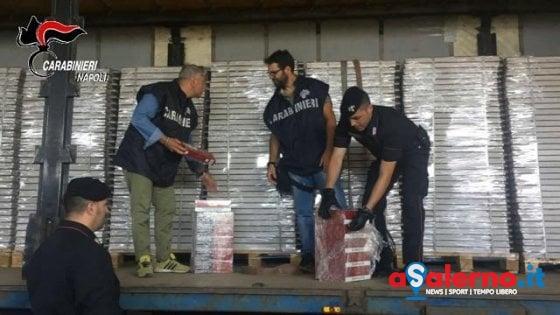 Blitz Finanza, sigarette nei pannelli edili: sequestrate 3,2 tonnellate ad Angri - aSalerno.it
