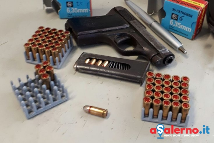 In casa con una Beretta calibro 6,35: denunciato imprenditore cilentano – FOTO - aSalerno.it
