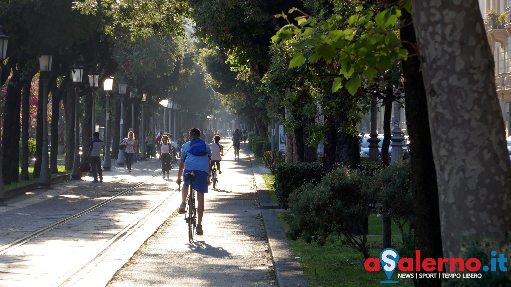 mobilità bicicletta pista ciclabile salerno