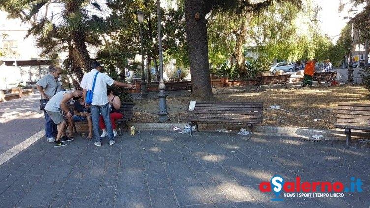 Degrado in piazza San Francesco: allontanati tre stranieri - aSalerno.it