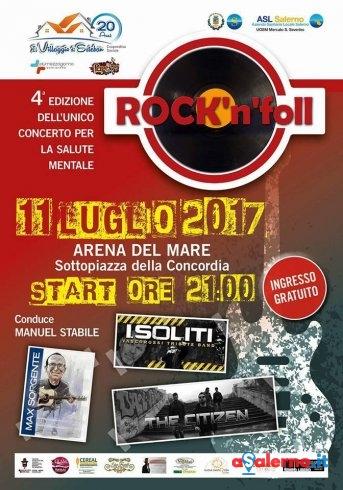 Tutto pronto per Rock'n' Foll: a Salerno il concerto per la salute mentale - aSalerno.it