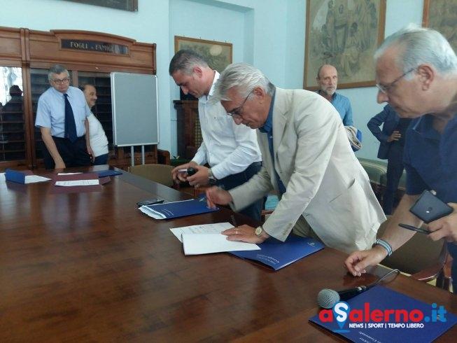 Valorizzazione culturale, firmato l'accordo tra Salerno e 12 comuni della Costiera - aSalerno.it
