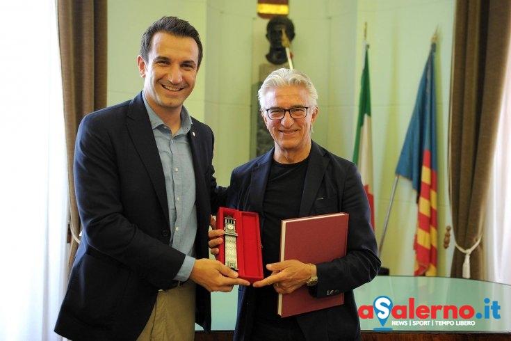 Il sindaco di Tirana al Comune di Salerno, incontro con Enzo Napoli - aSalerno.it