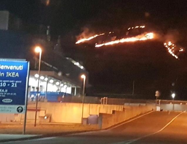 Emergenza incendi, le montagne di Baronissi continuano a bruciare - aSalerno.it