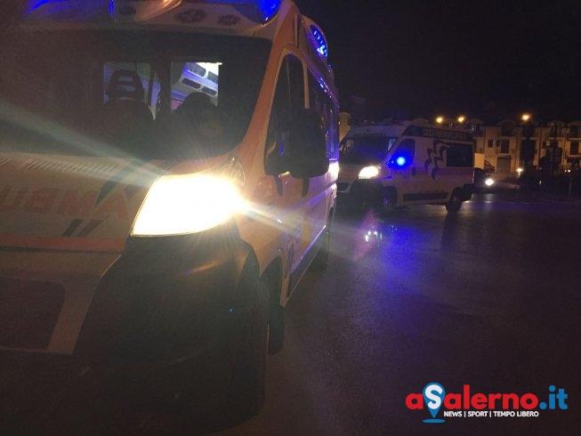 Pontecagnano, incidente nella notte in via Colombo: 2 feriti - aSalerno.it
