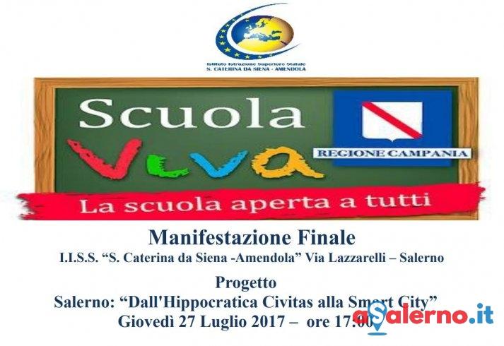 Appuntamento con Scuola Viva al Santa Caterina-Amendola di Salerno - aSalerno.it