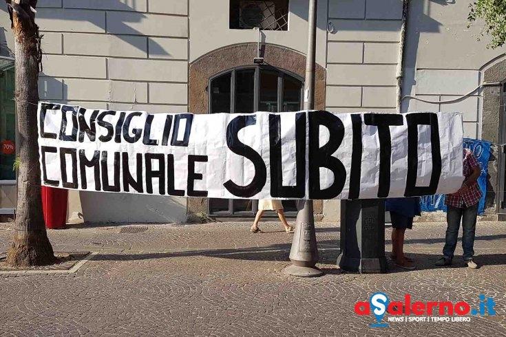 Consiglio Comunale subito, lo chiedono i disoccupati di Salerno - aSalerno.it