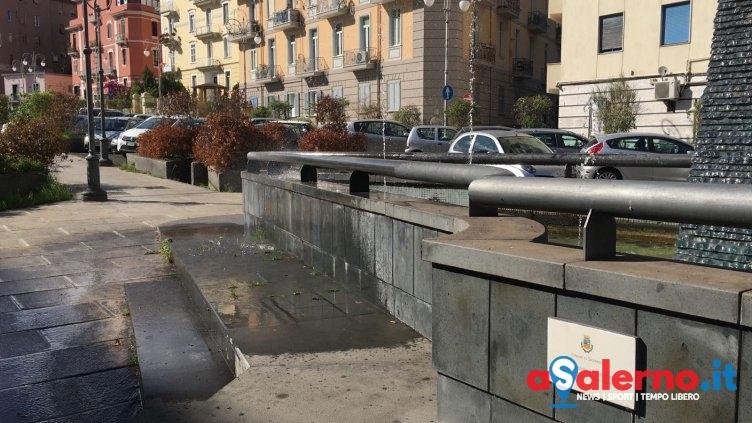 Crisi idrica, disposta la chiusura del 50% delle fontane - aSalerno.it