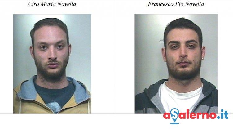 Le dosi di cocaina e marijuana sotto i vasi del giardino di casa, arrestati i gemelli Novella - aSalerno.it