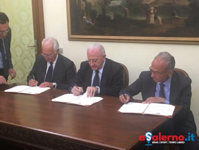 Svolta storica: l'Aeroporto di Salerno sarà gestito dalla Gesac – FOTO - aSalerno.it