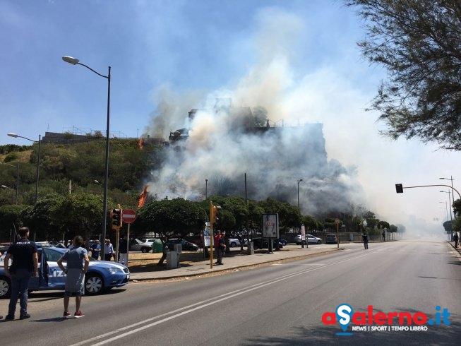 """Rischio incendi, il sindaco di Salerno: """"Proprietari di aree verdi provvedano a pulizia"""" - aSalerno.it"""