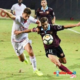 SAL - 12 08 2017 Carpi Stadio Cabassi Carpi Salernitana Tim Cup. Foto Tanopress