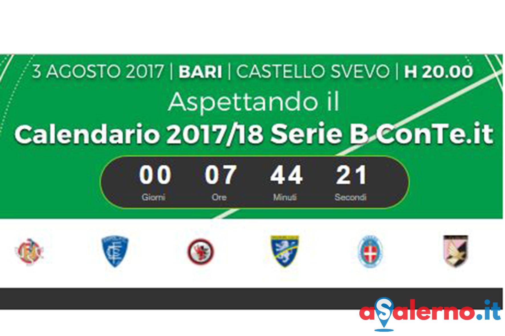 Calendario Serie B Bari.Stasera Alle 20 Si Sapra Il Cammino Della Salernitana Nella