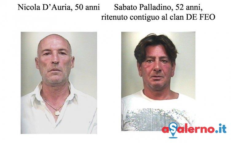 Colpirono commerciante con il calcio della pistola: arrestati Nicola D'Auria e Sabato Palladino - aSalerno.it