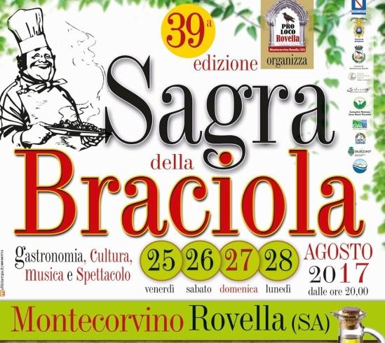 Montecorvino, tutto pronto per la 39esima edizione della Sagra della Braciola - aSalerno.it