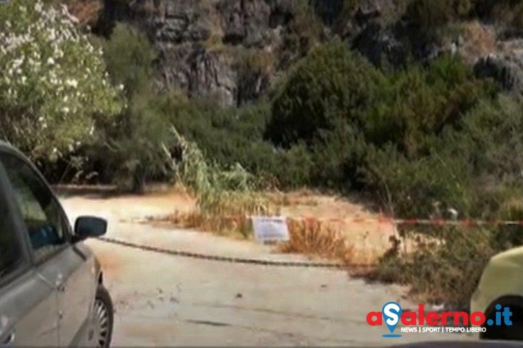 Caduta di massi a Marina di Camerota, sequestrate otto aree per il parcheggio - aSalerno.it