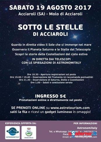 Sotto le stelle del Cilento: appuntamento ad Acciaroli - aSalerno.it