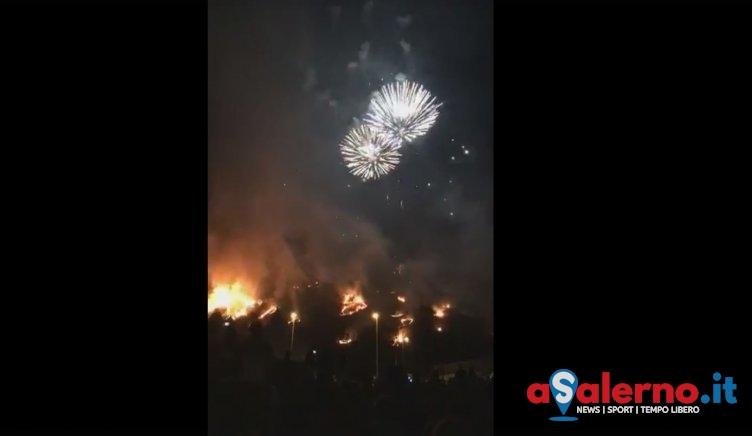 """Incendio durante festeggiamenti di San Rocco, gruppo """"Siano nel Cuore"""" scrive al Prefetto - aSalerno.it"""