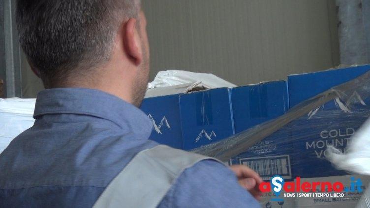 """Blitz della Finanza: vodka destinata al mercato """"nero"""", sequestrata 1 tonnellata - aSalerno.it"""